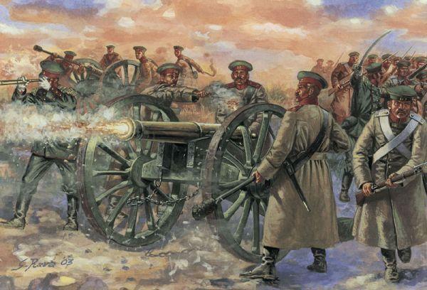 Crimean-War-Russian-Artillery-Battery