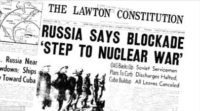 Cuban Missile Crisis, headline 1