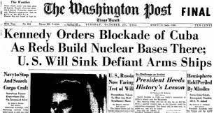 Cuban Missile Crisis, headline 2