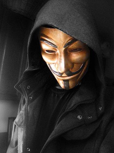 Guy Fawks Maske