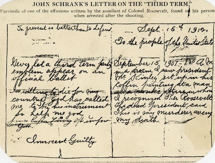 Schrank letter