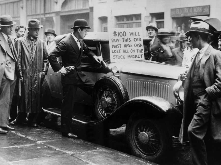 October 24, 1929Crash