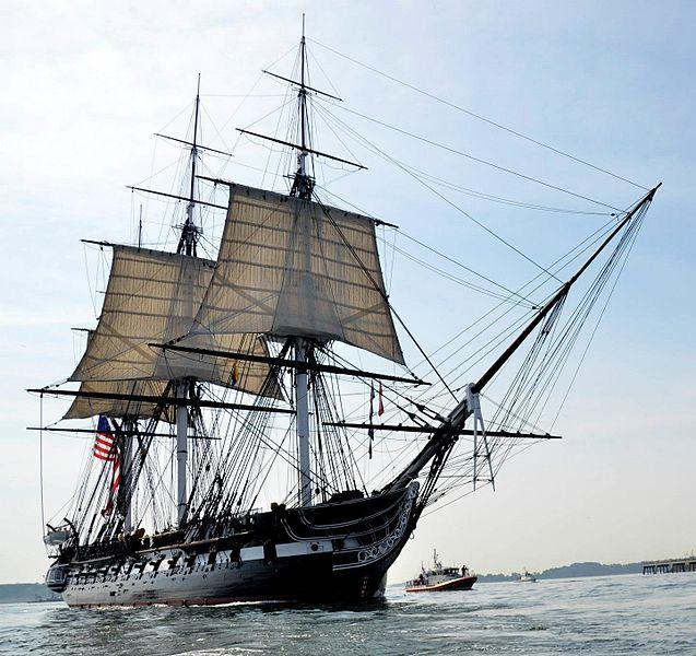 USS_Constitution_underway