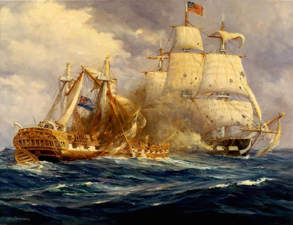 October 21, 1797 OldIronsides