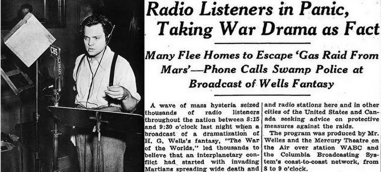 Image result for war of the worlds orson wells