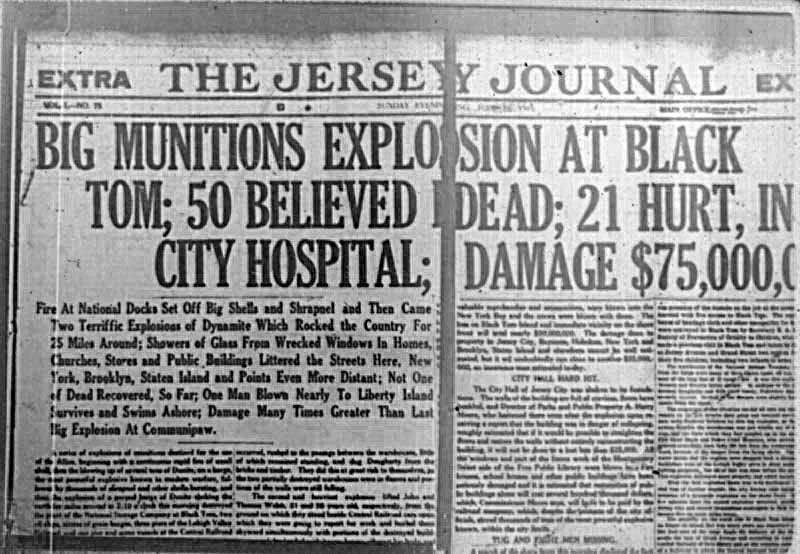 November 22, 1923 Black TomExplosion