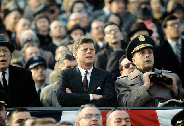 Kennedy, army navy game