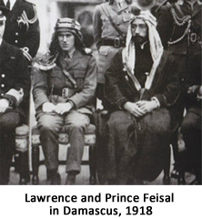 Lawrence and Feisal