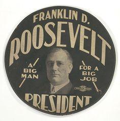 Roosevelt Button