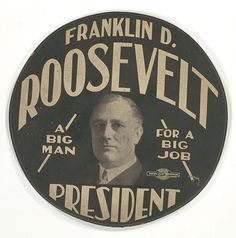 Roosevelt Button