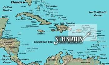 St Eustatius Map