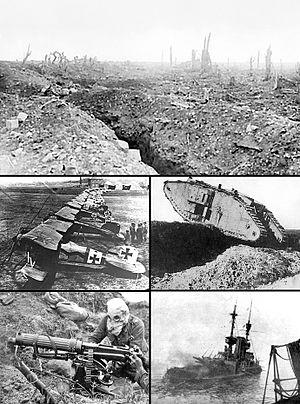 Trench line