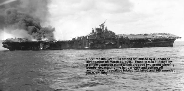 December 7, 1942  The Ship that Wouldn't Die