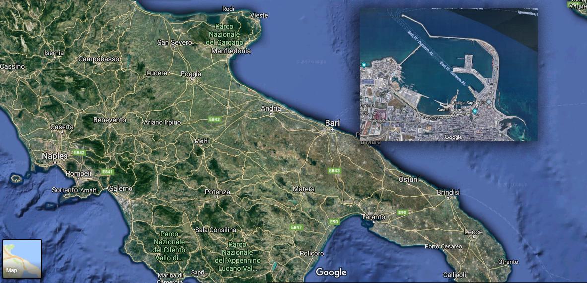 Bari Satellite