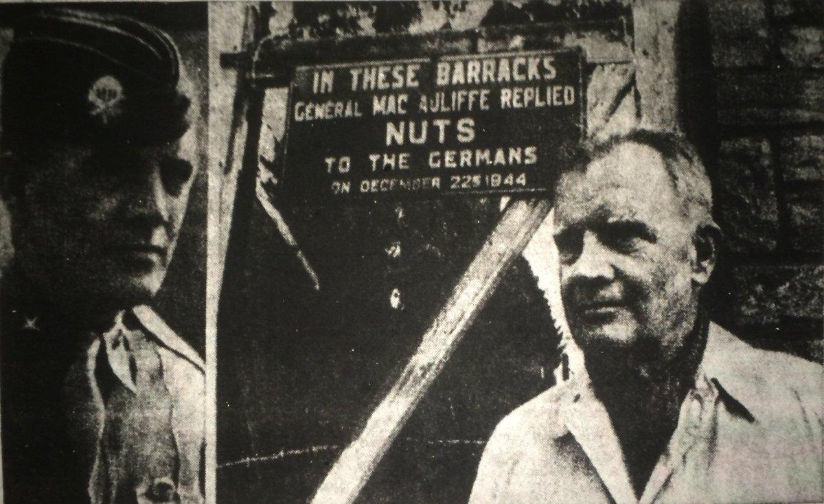 December 22, 1944 The Battered Bastards ofBastogne
