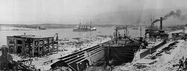 Halifax explosion, 1