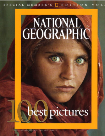 NatGeo Cover, Afghan girl