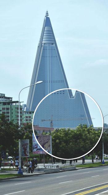 Ryugyong hotel, 2017