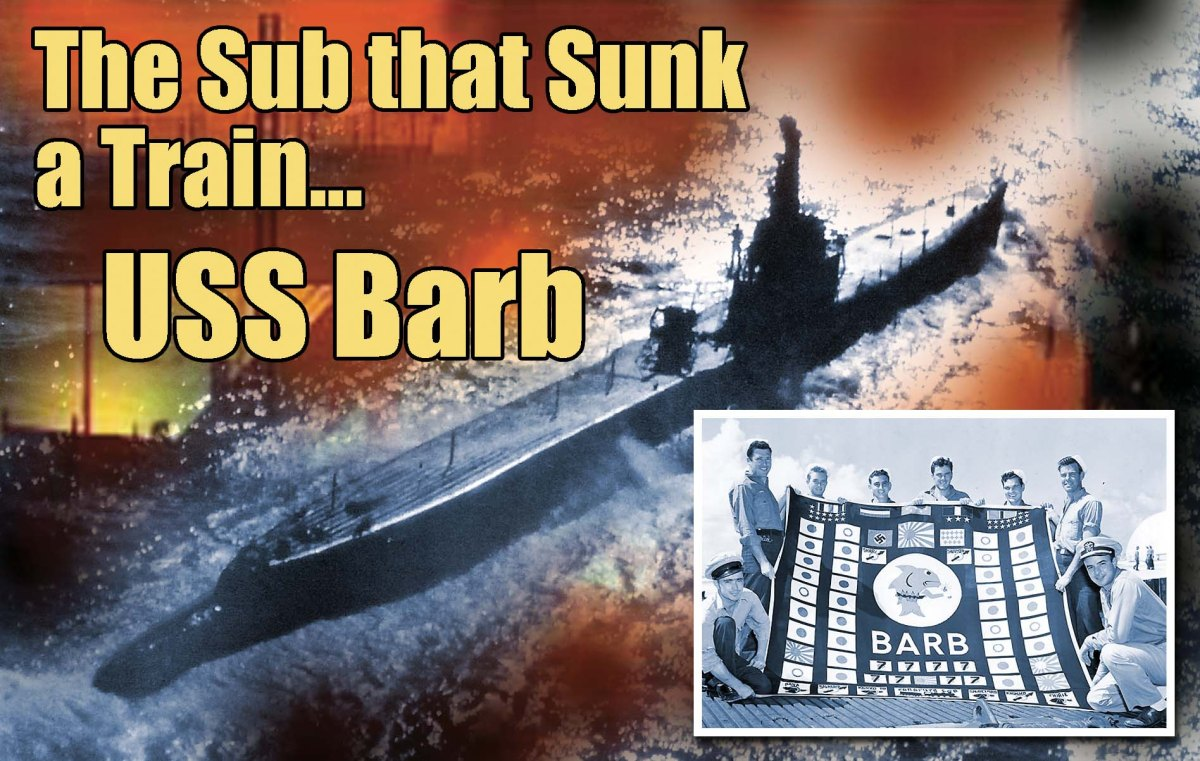January 8, 1945 The Sub that Bagged a Train