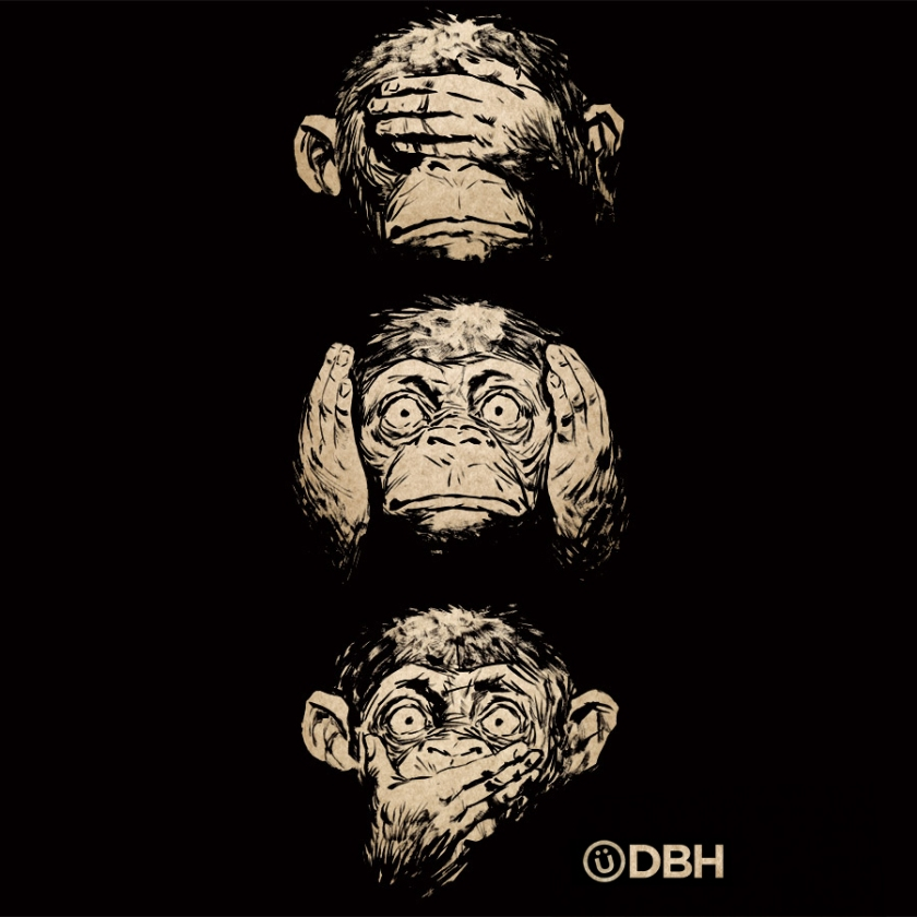 3_wise_monkeys_by_yannickbouchard-d5mdz46