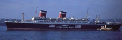 SS America, Flagged