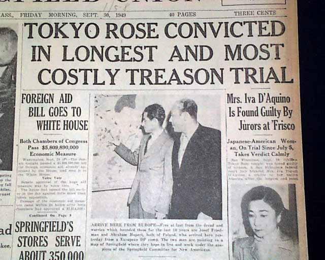 Tokyo Rose Conviction