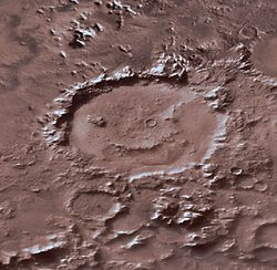 GalleMartianCrater
