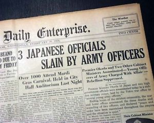 February 26, 1936 The Road to War