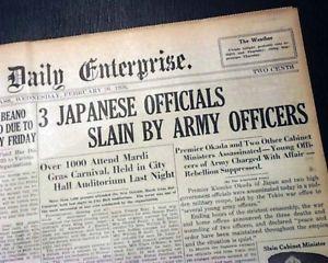 February 26, 1936 The Road toWar