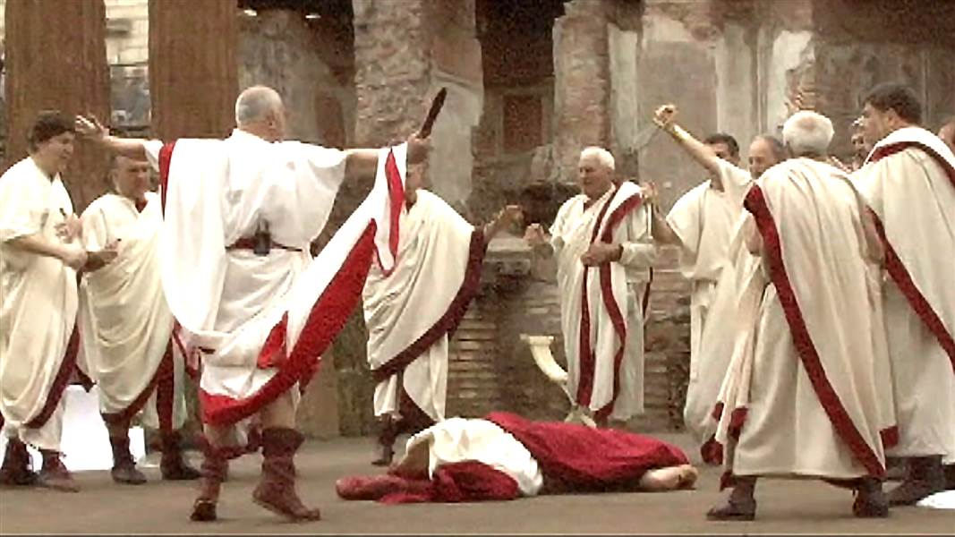 March 15, 44BC  The Ides of March