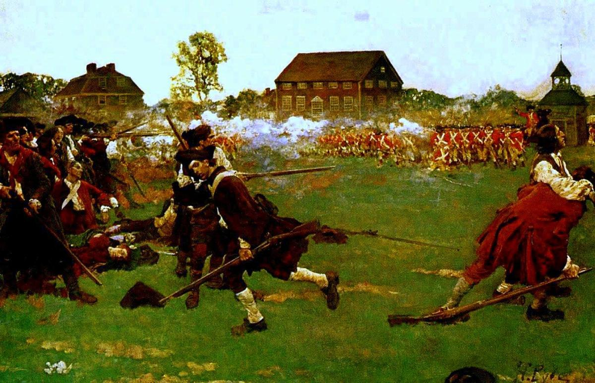 April 19, 1775  Shot Heard 'Round the World