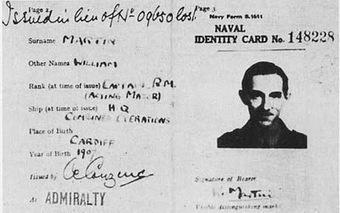 Naval identity card