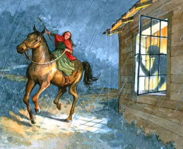 April 26, 1777  The Female Paul Revere