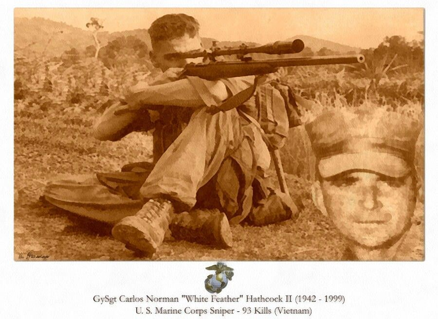 May 20, 1942 White Feather Sniper