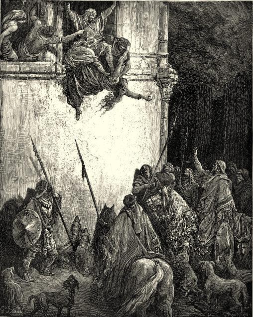 Defenestration-Jezebel-Gustave-Dore
