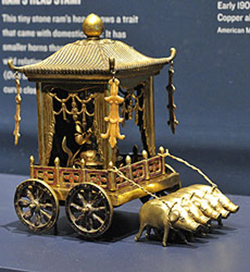 Pig Drawn Carriage