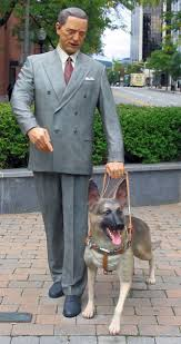 Seeing Eye Dog Statue