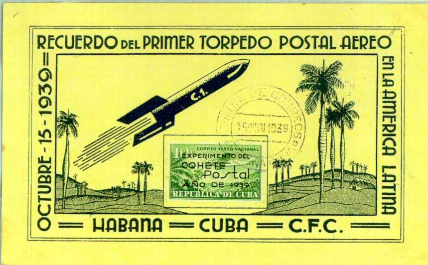 June 8, 1959 Missile Mail