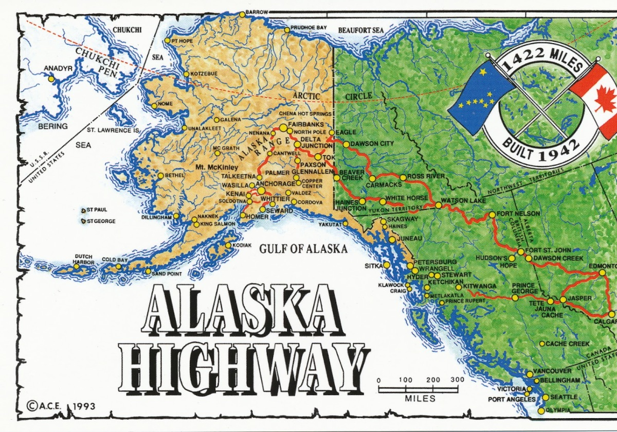 June 7, 1942  The Alcan Highway
