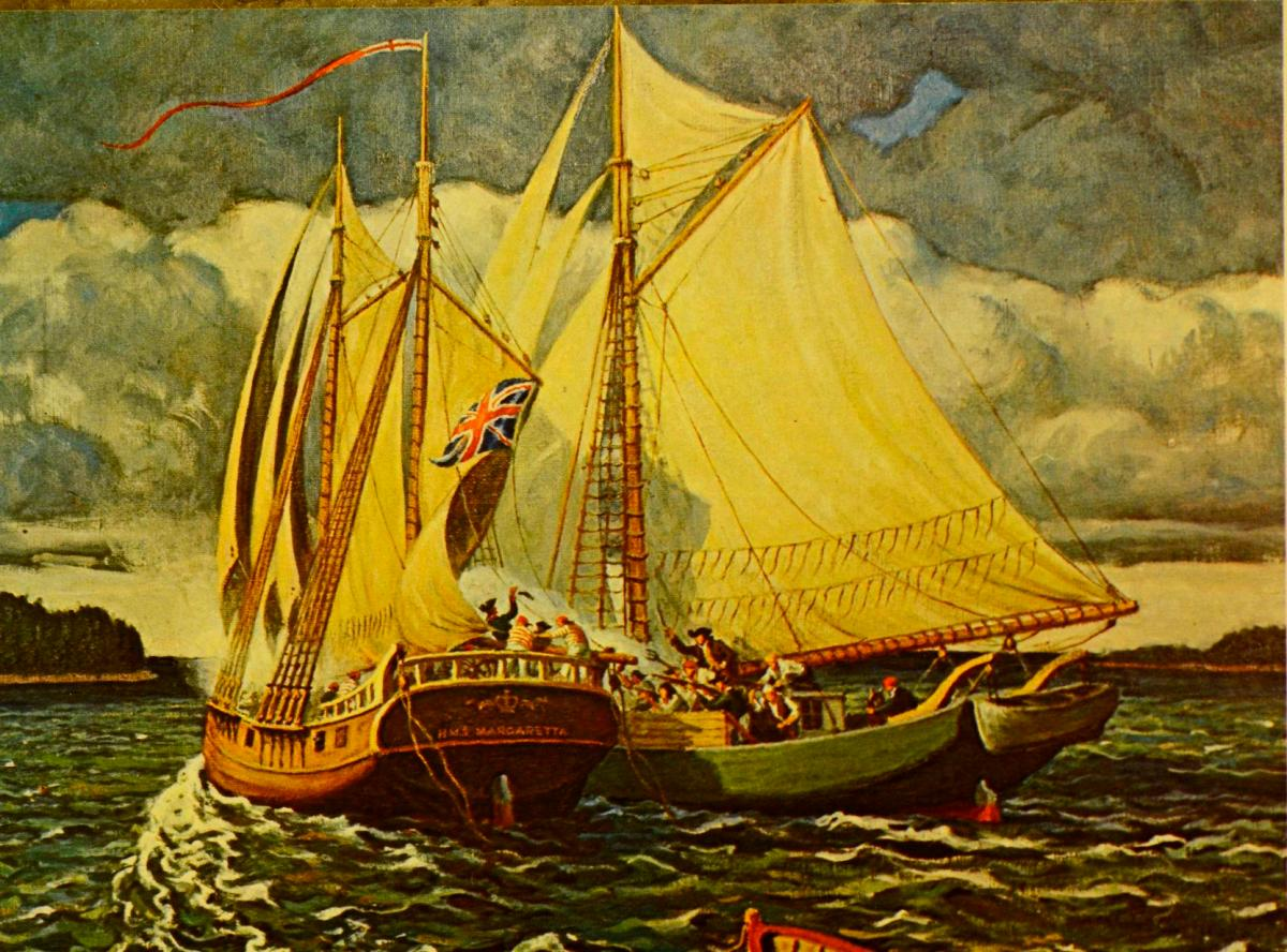 June 11, 1775  The Lexington of the Sea