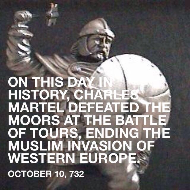 Battle of Tours, 732