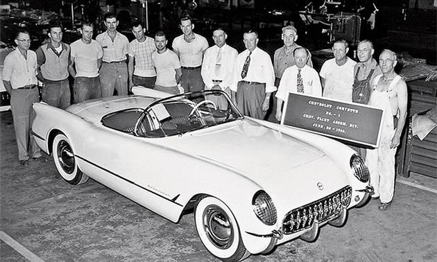 first-chevrolet-corvette