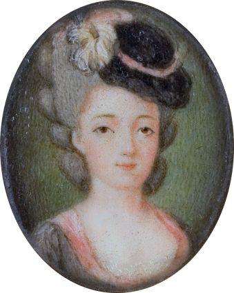Lafeyettes wife Marie_Adrienne_Francoise