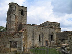 Oradour-sur-Glane-Church