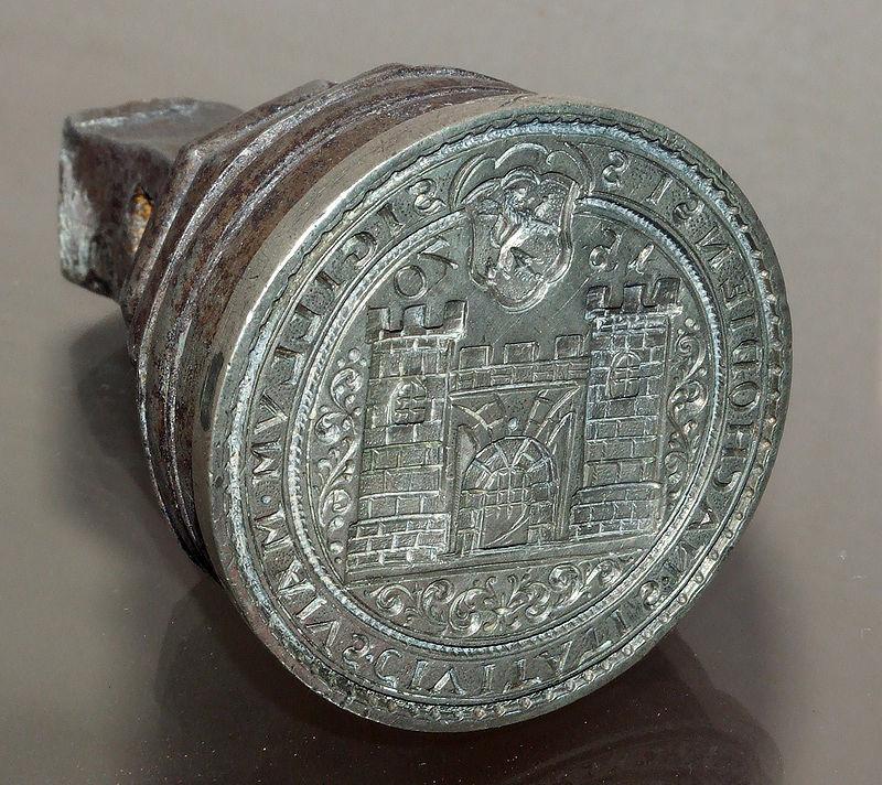 Town seal, 1570
