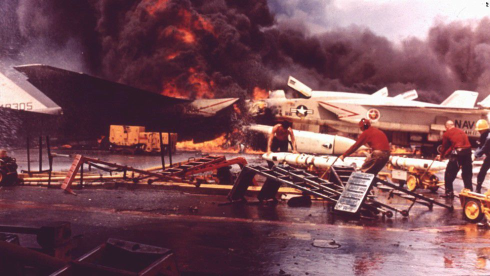 July 29, 1967 Inferno at Sea