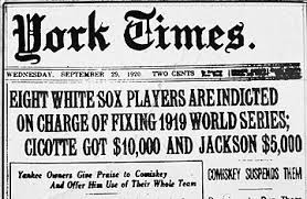 Black Sox Headline