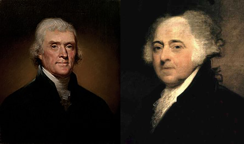 July 4, 1826  Friends andRivals