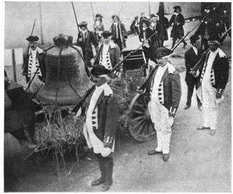 Liberty bell, 1908