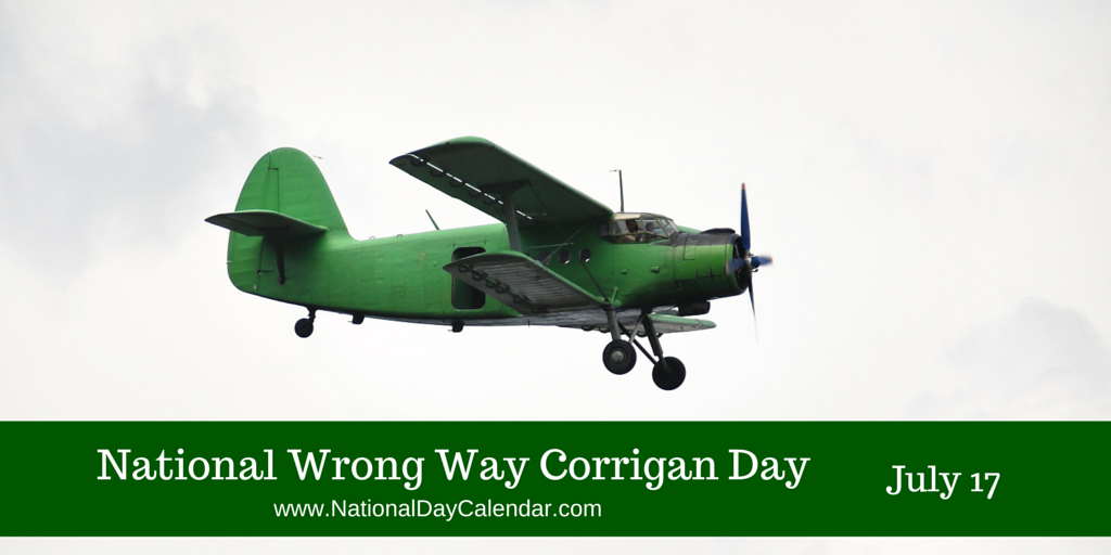 July 17, 1938  Wrong Way Corrigan